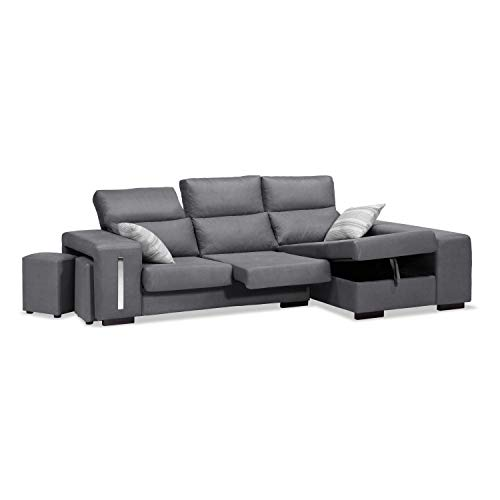 Chaise Longue 3 plazas – con arcón abatible