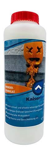 KaiserRein Wunder Granulat ca. 700g (1L) Geruchsentferner Flüssigkeitsbindemittel, Flüssigkeitsabsorbierer