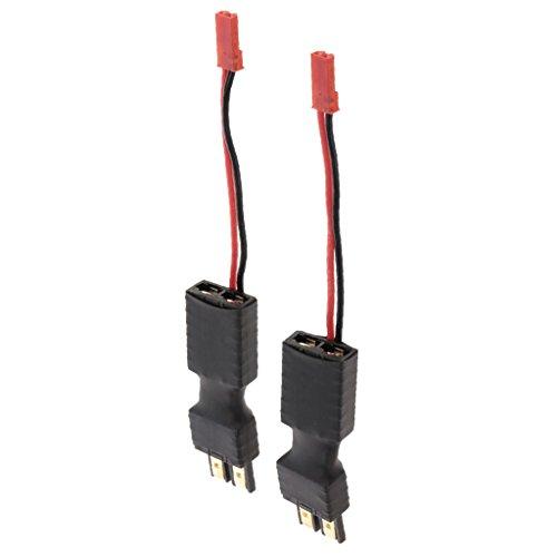 2X RC Cables de Batería Macho a Hembra Plug y Macho JST Conectador