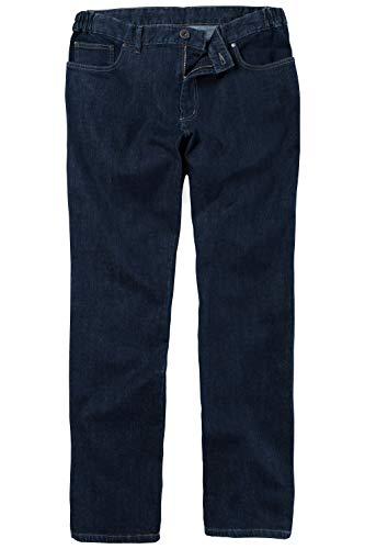 JP 1880 Herren große Größen bis 70, Jeans 5-Pocket-Schnitt, Denim Hose mit Stretch, Komfortbund & Regular Fit, Baumwolle darkblue 62 702468 93-62