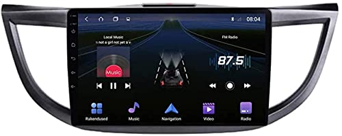 LYHY Android 10.0 Radio de navegación GPS Adecuado Compatible con Honda CRV 2012-2016 Navegación GPS Reproductor Multimedia de Video con Pantalla táctil HD de 9 Pulgadas con 4G WiFi DSP SWC