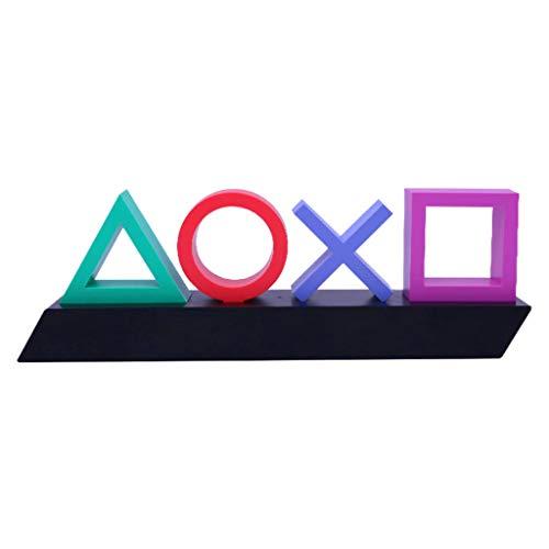 geneic Playstation-Schild, Sprachsteuerung, Spiel-Symbol, Licht, Acryl, Stimmung, Neon-Bar, Lampe, Club, KTV, dekoratives Ornament