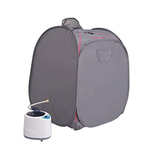 JBP Max Sauna voor thuis, draagbaar, zweten, sauna tent met hoed sauna stoom, box voor één persoon, Detox