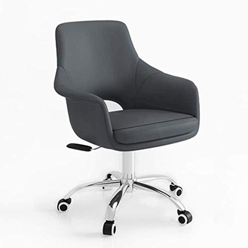 Juegos Silla de Oficina - Escritorio Racing Estilo ergonomico de Malla y el Ordenador Personal del Estudiante Silla giratoria de Color Amarillo Gaming Chair RVTYR (Color : Black)
