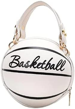 Ball Purses For Teenagers Women Shoulder Bags Crossbody Chain Hand Bags Personality Female Leather Pink Basketball Bag