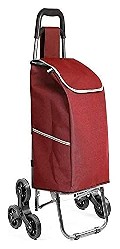 Compras Trolley Viajes Escalera Escalada Plegable Portátil Hogares Ancianos Puro Carro de...