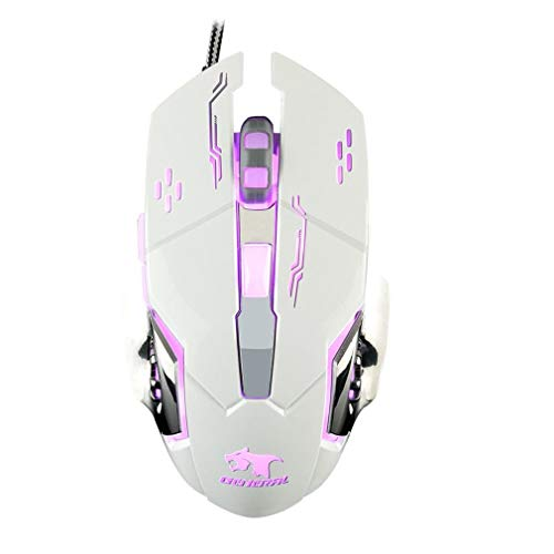 Manalada® X9 Gaming Mouse Gamer Laptop PC Mäuse Mechanische USB Wired Entwurf