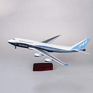 PIPI47センチメートル1/150スケールダイキャスト飛行機モデルBoe747高品質シミュレーション旅客機B747子供コレクションのギフト子供のための飛行機モデル