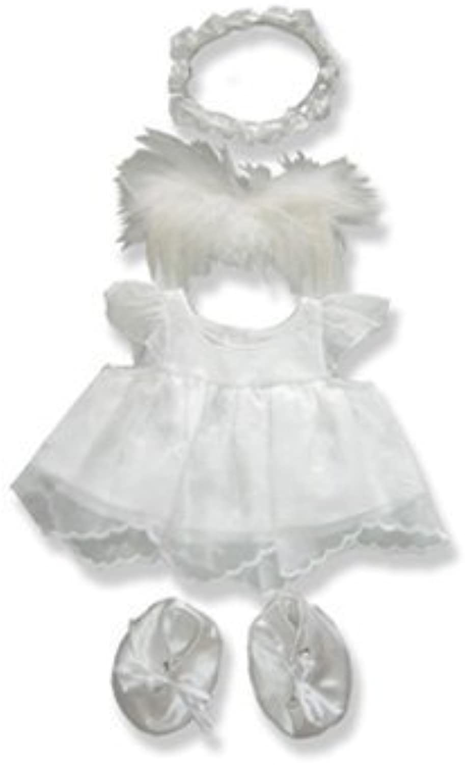 el mas reciente Angel Outfit Teddy Teddy Teddy Bear Clothes Fit 14 - 18 Build-a-bear, Vermont Teddy Bears, and Make Your Own Stuffed Animals by Stuffems Juguete Shop  encuentra tu favorito aquí