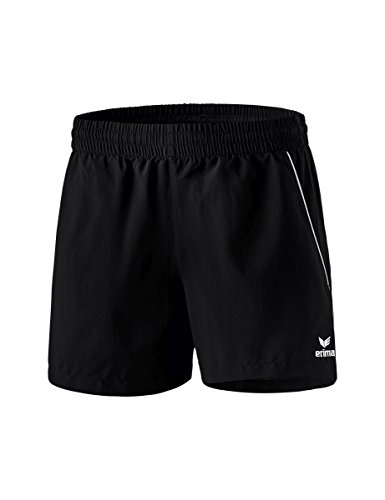 erima Damen Shorts Tischtennis, schwarz/weiß, 40, 1320703