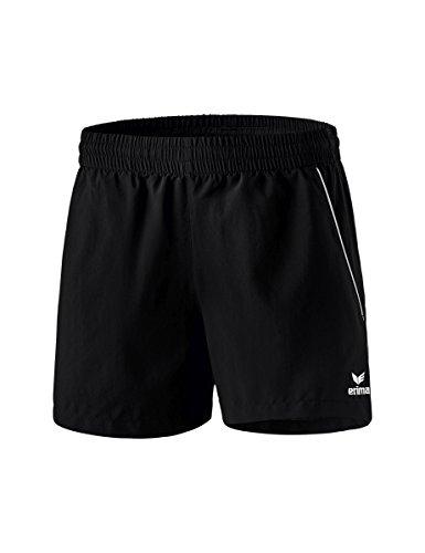 Erima Damen Freizeit Shorts, schwarz/Weiß, 38