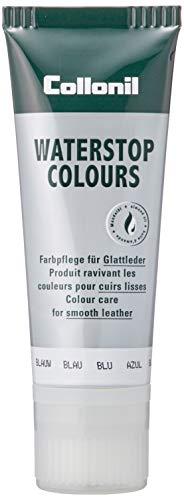 Collonil WaterSTOP Colours - Crema para zapatos con soporte impermeabilizante azul oscuro, 75 ml