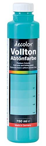 Decotric Decolor Abtönfarbe Mint, 750ml, 4007955921011