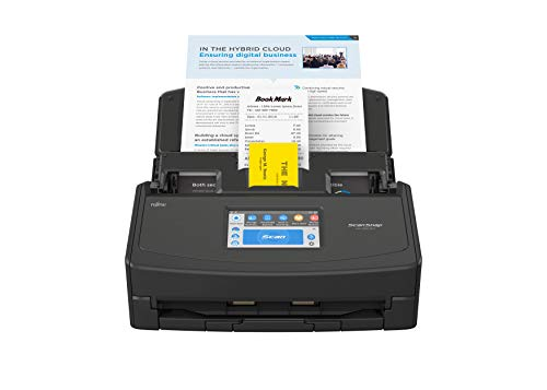 ScanSnap iX1500 Version Noire - Scanner de Documents - Recto Verso, A4, Wi-FI, sans Fil