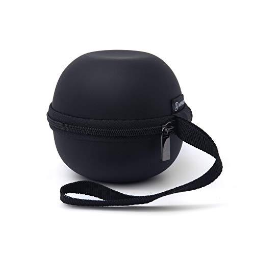Artiphon Travel Case für den Orba Synthesizer Looper Midi-Controller Transporttasche Softshell-Tasche (stoßfest, EVA-Kunststoffschaum, weiche Innenauskleidung, Ladekabelfach, Schlüsselband), Schwarz
