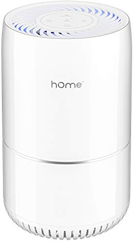hOmeLabs Purely Awesome Air Purifier with True HEPA Filter - Removes 99.97% of Airborne Particles with H13, Activated Carbon and 3-Stage Filtration to Significantly Improve Indoor Air Quality