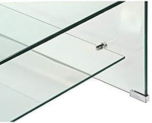 LMM Mesa Centro Cristal Cuadrada