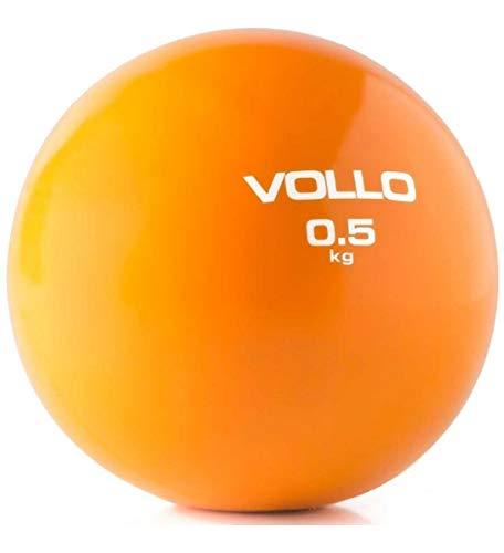 Bola Peso Soft Ball Tonificadora Pilates Fisio 0,5kg Vollo