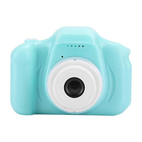 Gaeirt Cámara para Selfies para Niños, Mini Cámaras de Video Digitales Cámara Compacta para Niños Cámara para Niños Juguetes Juguete Portátil para Niños de 3 a 12 Años, Niñas(Verde)