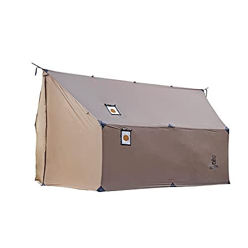 OneTigris TEGIMEN Hängematte, heißes Zelt mit Herd Jack, vielseitiger Camping-Unterstand, 3000 mm wasserdicht