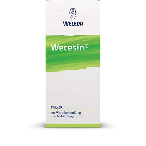 WELEDA Wecesin Pulver zur Wundbehandlung und Nabelpflege, 50 g Pulver