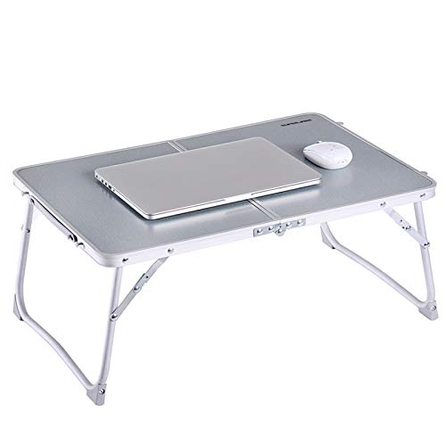 Foldable Laptop Table, Superjare Bed Desk, Breakfast Serving Bed Tray, Portable Mini Picnic Table &...