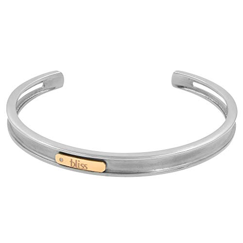 Damiani Bliss Gold Tytanium 18K Rose Gold Titanium Unisex Bangle Bracelet Large Size