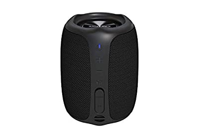 Creative MUVO Play Portable Bluetooth 5.0 Speaker, IPX7 Waterproof for Outdoors, Up to 10 hours of Battery Life, with Siri and Google Assistant (Black) from CREATIVE