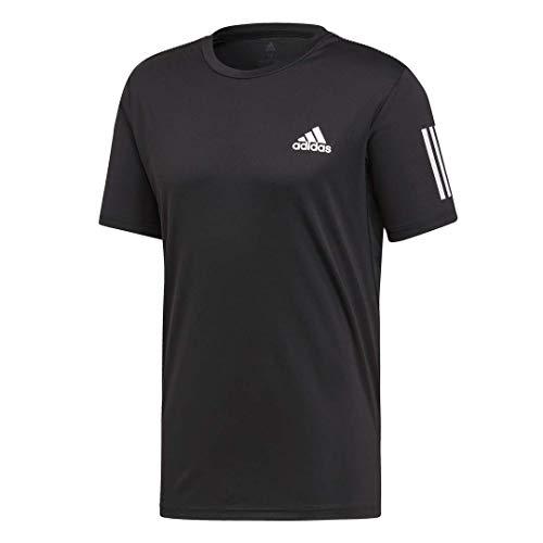 adidas Camiseta de Tenis Club de 3 Rayas para Hombre, Hombre, Manga...