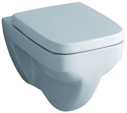 Geberit WC-Sitz Renova Nr. 1 Plan (Farbe weiß, mit Deckel, Befestigung aus Metall) 572110000