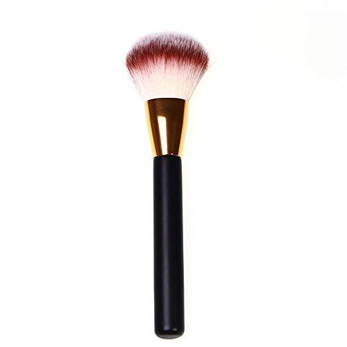 Enkele Rechte Ronde Tailed Hout Handvat Losse Schilderen Honing Borstel Make-up Borstel Lange Paal Make-up Borstel Fabrikant Direct Voor Fibre Haar