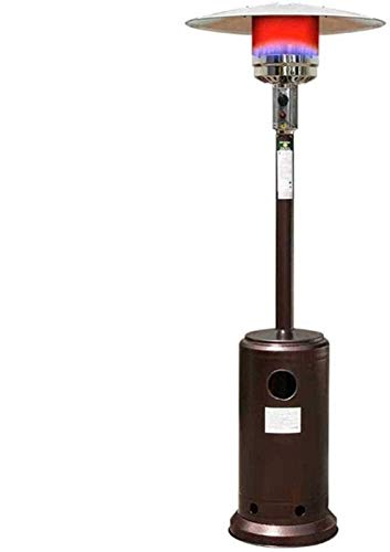 GJNVBDZSF Calentador de Patio en Forma de Paraguas, Calentador de Escritorio Vertical de pie de 13KW al Aire Libre para balcón, Patio, Garaje, jardín 1031