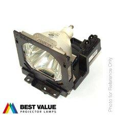 Alda PQ-Premium, Lámpara de proyector Compatible con 610 292 4831, POA-LMP42, 03-900472-01P para SANYO PLC-UF10, PLC-XF40, PLC-XF40L, PLC-XF41 Eiki LC-UXT1 Proyectores, lámpara con Carcasa