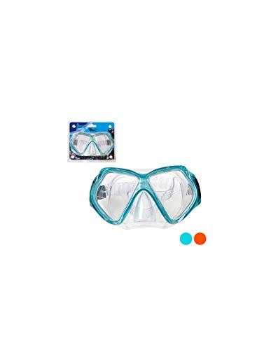 BigBuy Outdoor S1123064 Gafas de Buceo, Unisex-Adult, Azul, Talla única