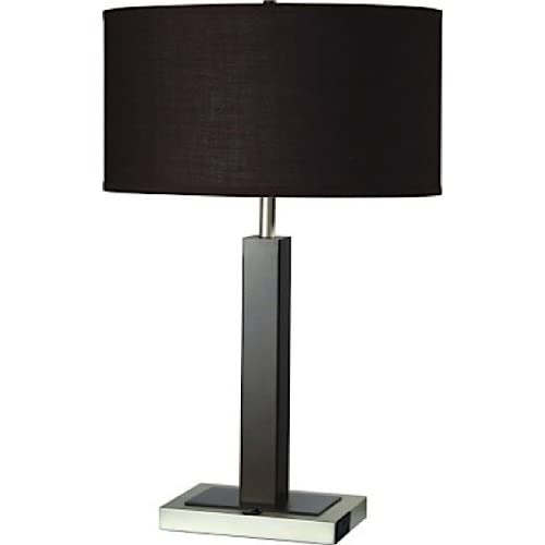 Table Lamp Outlet On Base Amazon Com