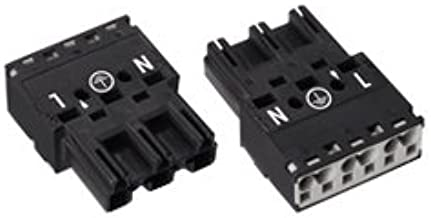 WAGO CORPORATION 770-213 Terminal Blocks & Barrier Strips hardware-terminal-blocks 3 Position 20 - 12 AWG 10.0 mm Cage Clamp Plug Without Relief Housing - 10 item(s)
