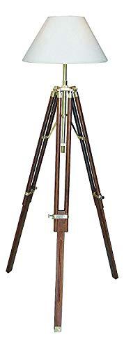 Antik 2000 Eindrucksvoll Stehlampe Stativ Lampe Dreibein Stativlampe Höhenverstellbar