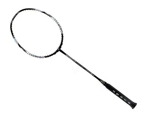 Apacs Feather Weight X Badmintonschläger (8U) schwarz silber
