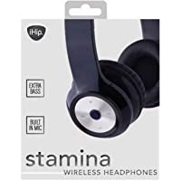 4-Piece iHip STAMINA Bluetooth Over the Ear Headphones