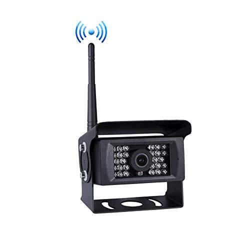 Digital Drahtloses Rückfahrkamera, 12v-24v Extra Drahtlose Rückfahrkamera IP69 Imprägniern für Digital Drahtloses Rückfahrkamera System, Übertragungsabstand bis 150 M für LKW RV Anhänger Camper Vans