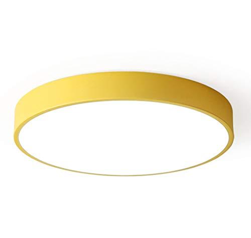 Lampara de Techo amarilla de LED Ultrafinas