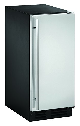 """U-Line UCLR1215S40B 15"""" Undercounter Clear Ice Maker, Stainless Steel"""