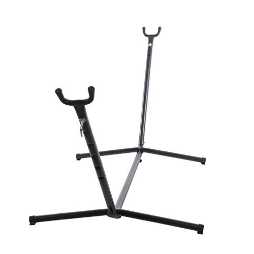 HUANXI Sturdy Metal Hammock Stand Only for Hammock, 150kg Weight Capacity (270x100x105cm) Hammock Chair Stand Only for Backpacking, Travel, Beach, Yard, Patio, Outdoor