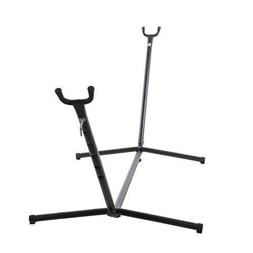 Portátil Metal Estructura Hamaca para Hamacas, Peso máx soportado 150kg (270x100x105cm) Soporte Hamaca para Patio, Camping, Playa Y Patio