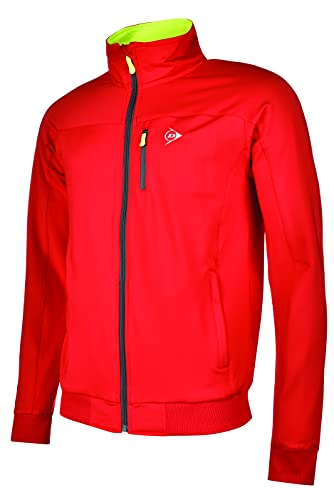 Dunlop Sports Boys Knitted Jacket Chaqueta Deportiva, Rojo,...