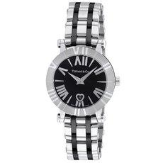 Tiffany Z1300.11.11A10A00A ティファニーAtlas レディース腕時計 ブラック×シルバー [並行輸入品]