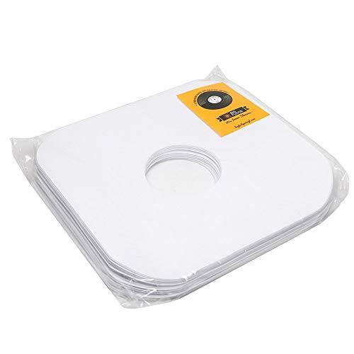 """Big Fudge 100 buste interne di carta per dischi in vinile, bianche 12"""" (33 giri)"""