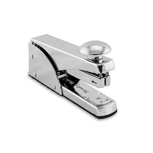 Kornet & Hahn Tacker im Metall Design - Heftgerät für Heftklammern – Handtacker (nicht elektrisch) bis zu 20 Blatt - Bürobedarf
