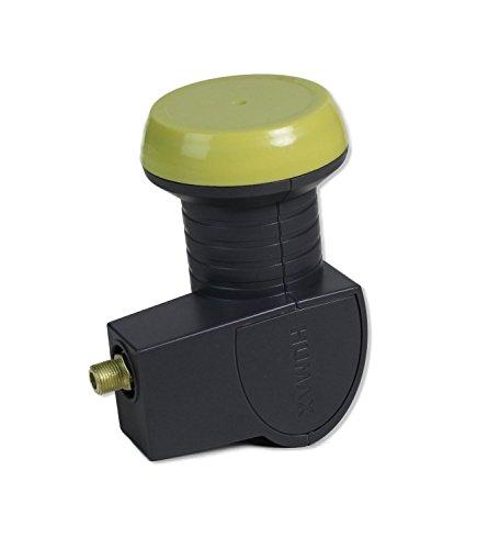 HB-DIGITAL Humax LNB 113 Single Universal LNB (Wetterschutzgehäuse mit Tülle, 0.1 dB Rauschmaß, 40 mm Feed, HDTV, Vergoldeter Anschluss)