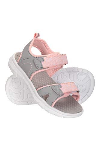Mountain Warehouse Tide Junior Sandalias - Zapatos de Verano de Neopreno para niños, de Secado rápido, Cierre de Velcro - Ideal para Vacaciones, Viajar, Acampar Coral 29